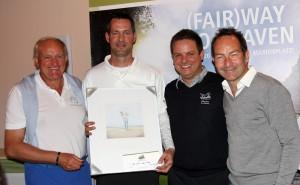 Von links: Conny Konzack, Marcus Brunnthaler, Jochen Hornig und Ralf Exel. Foto: Horst Huber