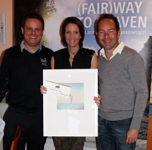 Jochen Hornig, Nina Lehnhoff und Ralf Exel. Foto: Horst Huber
