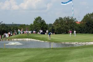 Das 18. Grün im Golfclub Starnberg. Fotos: Horst Huber