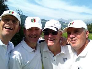 Markus, Ralf, Thomas und Günter (von links).