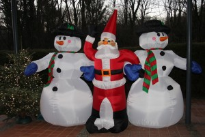 Weihnachtsstimmung im Münchener Golfclub Thalkirchen.