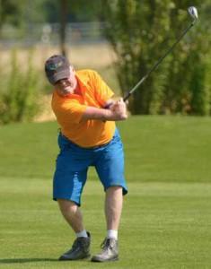 Heinz Barnbeck, in München gewählter Sprecher der Behinderten- und Inklusionsbeauftragten bayerischer Golfclubs. Foto: Wirtz