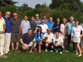 Die Sieger von links: Max Breitner, Sibylle Seidl-Cesare, Gerd Wolf und Ralf Exel.