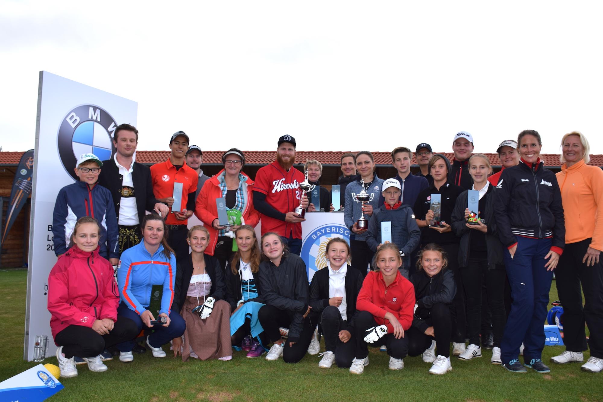 Alle Sieger und Platzierten der ersten Bayerischen Meisterschaft Long Drive Championship